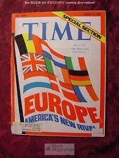 TIME March 12 1973 Mar 3/12/73 EUROPE European Common Market +++