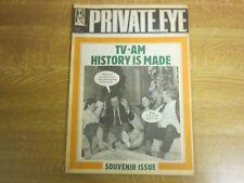 February 11th 1983, PRIVATE EYE, David Frost, Martin Stevens, Paul Harris.