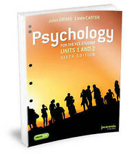 PSYCHOLOGY FOR THE VCE STUDENT- UNITS 1 AND 2, FLEXI SAVER (LOOSELEAF) AND EBOOK