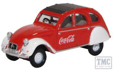 76CT007CC Oxford Diecast 1:76 Scale Citroen 2CV Coca Cola