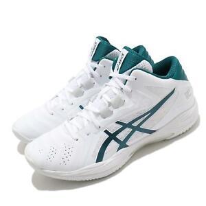 Asics Gelhoop V13 White Velvet Pine Men Basketball Shoes Sneakers 1063A035-101