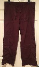 Lucy Nylon Maroon Pants - Size Small Short