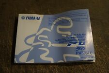 YAMAHA GENUINE  PW50  A1  OWNERS  MANUAL BOOK  5PG-28199-8A