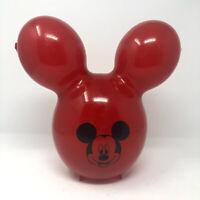 Disney Parks Red Mickey Mouse Balloon Popcorn Bucket Disneyland