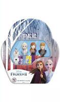 PEZ Candy Disney Frozen 2 Collectible Gift Tin 4 PEZ Dispensers New