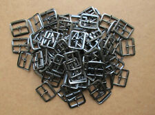 "90 SOLID PRESSED BUCKLES DARK ANTIQUE FINISH 1""(1 1/8"")FULL WIDTH"