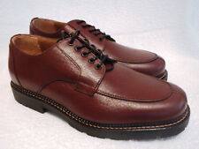 "Trask ""Big Hole"" Split Toe Derby Mens Size 8.5 Oxford Shoes NEW ITALY"