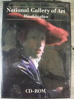 National Gallery of Art, Washington (CDROM, 2003) Over 1,500 Works/Info on CDROM