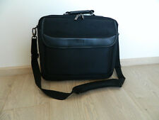 "Acme Travel 15"" Messenger Laptop Bag Case Black Hardly Used"