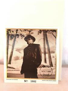 John Lee Hooker Commemorative Stamp Tanzania Nov 7 1996 COA Blues Foundation