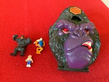 Mighty Max Tangles With Ape King - Doom Zones - Bluebird Toys - Complete