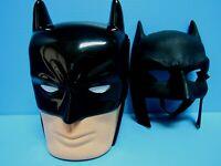 DC COMICS BATMAN TRICK OR TREAT HARD PLASTIC HALLOWEEN CANDY BUCKET & MASK