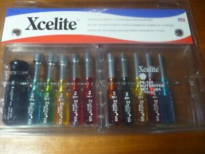 Xcelite Nutdriver Set mit Drehmomentverstärker; 11-teilig Nr. PS120V USA