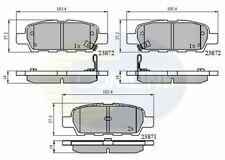 Rear Brake Pads Fits Nissan Tiida 1.6 Saloon SC11X 110HP 105.4x38.0x14.2mm