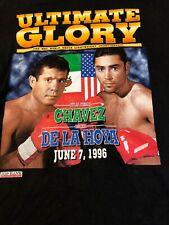 VTG 1996 Ultimate Glory Chavez vs. De La Hoya WBC Championship (XXL) T-Shirt