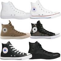 Converse Chuck Taylor All Star Leather Schuhe Turnschuhe High-Top Sneaker Leder