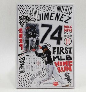 Chicago White Sox Eloy Jimenez Baseball Bobblehead IOB