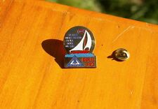 Telephone Pioneers of America Dixie #23 Can't Control Wind .. Sails Pin Pinback