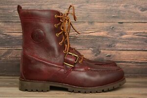 Polo Ralph Lauren Ranger Brown Leather Mens Boots 14557 F19