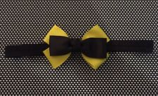 The Wiggles Emma Wiggle Inspired  Bow On Elastic Headband- Bow Approx 8cm Long