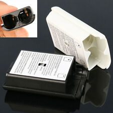 one White/Black AA Battery Pack Back Cover Shell Case Kit For Xbox360 Controller