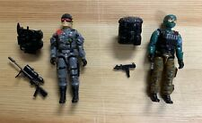 Vintage Beachhead Low Light Action Figures GI JOE 1986