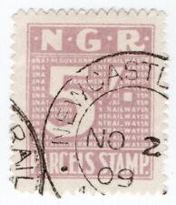 (I.B) Natal Government Railways : Parcel Stamp 5/- (Newcastle)