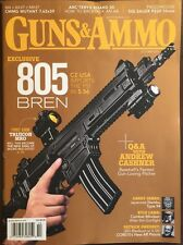 Guns And Ammo Exclusive 805 Bren Trijicon MRO October 2015 FREE SHIPPING