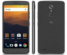 """BOOST MOBILE ZTE Max XL N9560 6"""" 16GB Android 4G LTE Smart Camera Cell Phone"""
