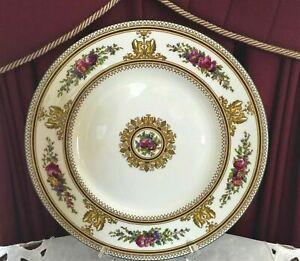 VINTAGE WEDGWOOD BONE CHINA ENGLAND 'COLUMBIA W595' DINNER/DISPLAY PLATE C1960'S