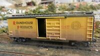Roundhouse MDC Ltd. run HO 50th Anniversary 40' steel Boxcar,  Upgraded, Ex