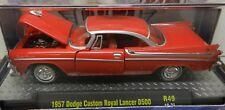 1957 DODGE BOYS MOPAR 57 RED CUSTOM ROYAL LANCER D500 4500 18-31 FORWARD LOOK M2