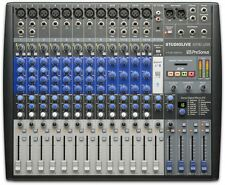 PreSonus StudioLive AR16 USB 18-Channel Live Sound/Recording Mixer Board Effects