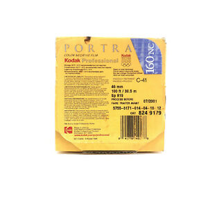 Kodak Portra 160NC film 46mm Bulk Roll 100 ft Sp 819