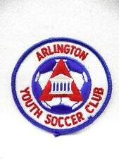 Vintage Embroidered Patch Arlington Youth Soccer Club Mint Condition