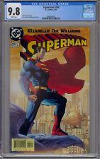 SUPERMAN #204 CGC 9.8 JIM LEE