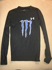 Men's Under Armour Long Sleeve Monster Energy Compression Shirt Small S
