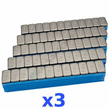 3X 6kg 18kg Premium Wheel Weights 12x5g Stick-On Weights Adhesive Bars 300 Bar