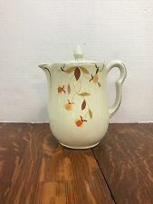 Hall Autumn Leaf Coffee Pot