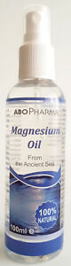 !!! 100 ml. Spray Pure Magnesium oil Muscle Cramps Fast Absorption !!!