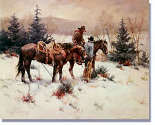 """WINTER IN VERMEJO"" LIMITED EDITION PRINT BY GARY NIBLETT   *****BEAUTIFUL *****"