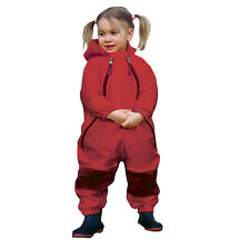 Muddy Buddy All in One waterproof Rainsuit Coverall Red 4T / 17kg