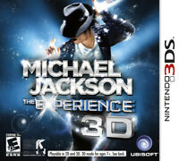 Michael Jackson: The Experience 3D [Nintendo 3DS Ubisoft Rhythm & Music MJ] NEW