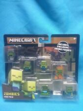 Mattel Minecraft Zombie Mob Pack Mini-Figure Mob Pack Action Figures NEW