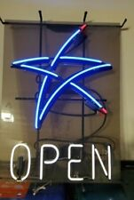 Us Cellular Phone Wireless Neon Open Light Up Sign Store Advertising Sign New
