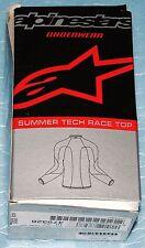 T-shirt thermique manche longue été Alpinestars Summer Tech Race Top T XXL