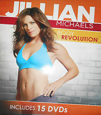 Jillian Michaels: Body Revolution (DVD, 2012, 15-Disc Set)