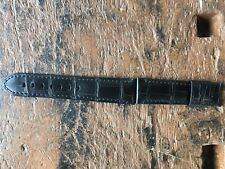 Officine Panerai Strap 22/20mm Black Alligator -Cinturino Originale Alligatore
