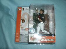 MLB McFarlane Figur Rafael Palmeiro Baltimore Orioles O's Trikot schwarz