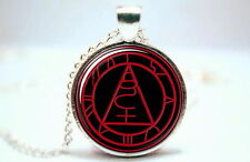 Silent Hill - Seal of Metatro - Silver Tone Photo Glass Dome Necklace Pendant